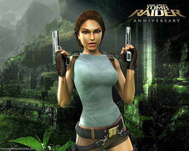 Lara Croft Tomb Raider nhan vat nu dep