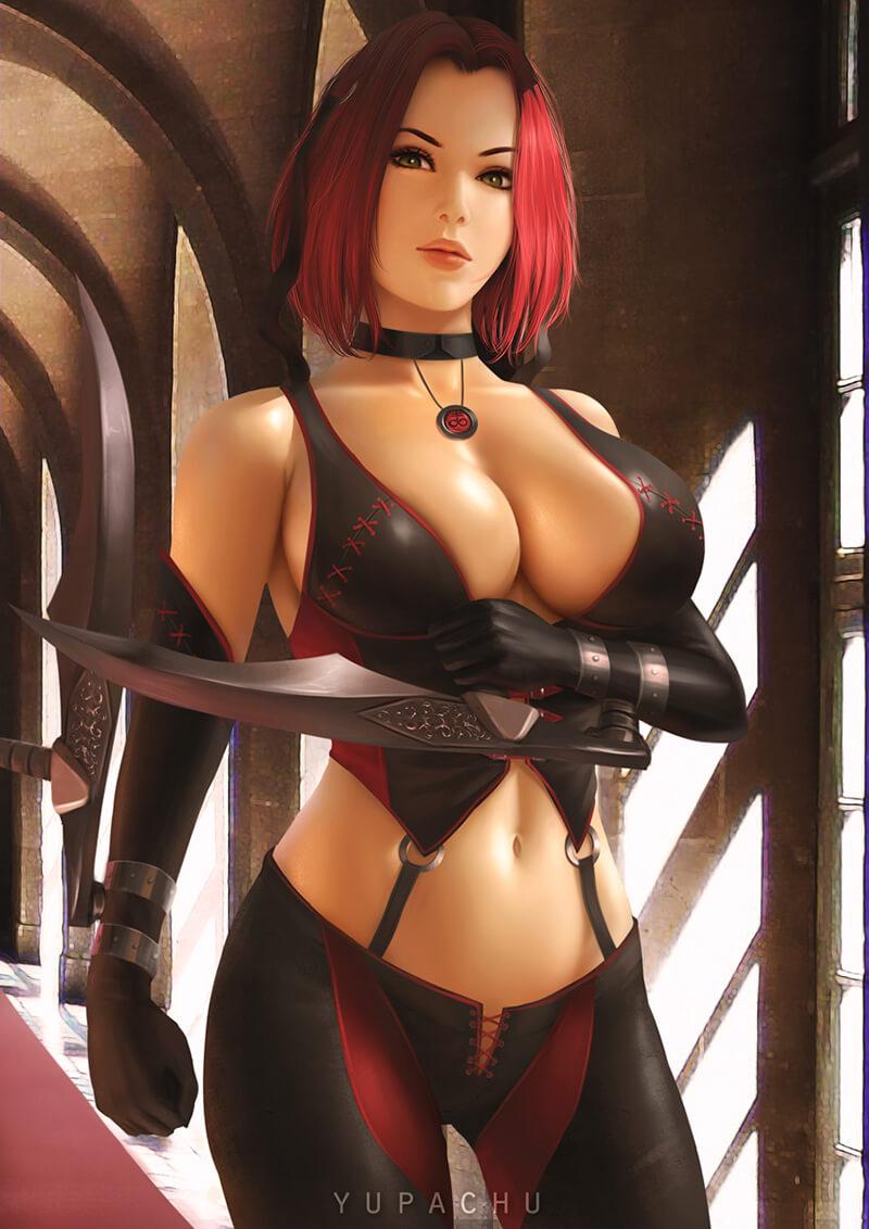 Nhân vật Rayne trong game BloodRayne