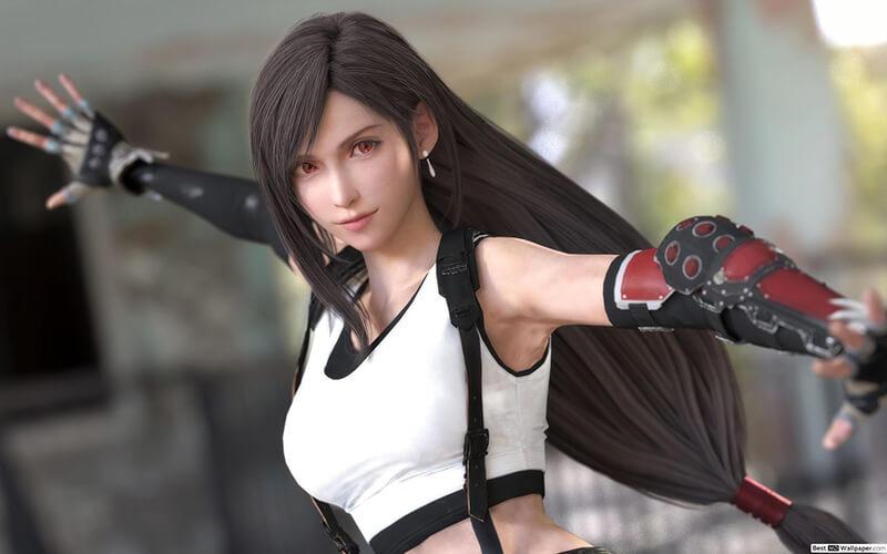 Tifa Lockhart trong game Final Fantasy VII - Game Offline Có Nhân Vật Nữ Đẹp nhất